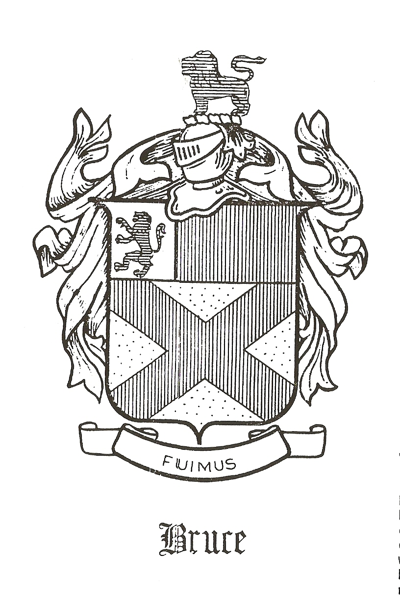 Coat of Arms for Bruce, Earl of Elgin and Kincardine