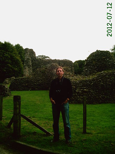 Brian Carothers at Lochmaben Castle